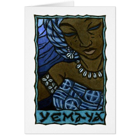 Yemaya Greeting Card