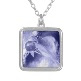 YEMAYA HUMANITY'S MOTHER SILVER PLATED NECKLACE