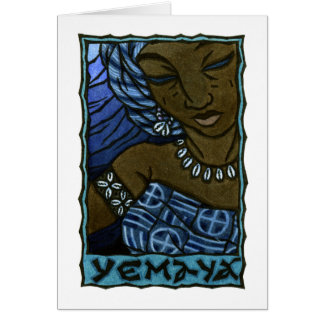 Yemaya Note Card