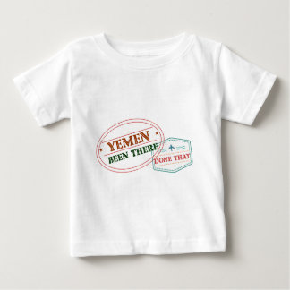 Yemen Been There Done That Baby T-Shirt
