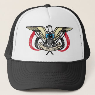Yemen Coat Of Arms Trucker Hat