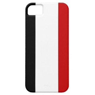yemen country flag case red white black stripes