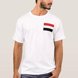 Yemen Flag and Map T-Shirt
