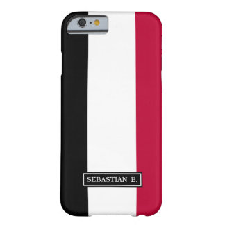 Yemen flag barely there iPhone 6 case