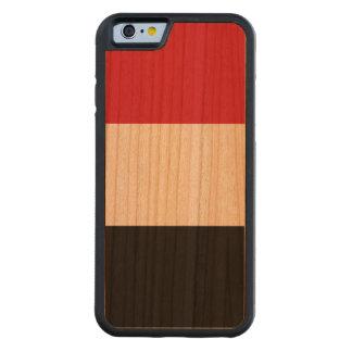 Yemen Flag Carved Cherry iPhone 6 Bumper Case