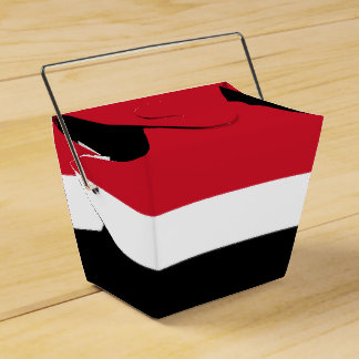 Yemen Flag Favor Boxes