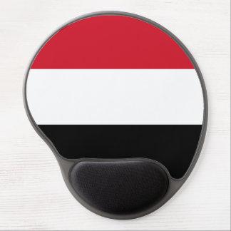 Yemen Flag Gel Mouse Pad