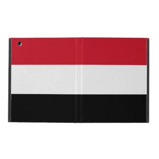 Yemen Flag iPad Cover