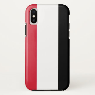 Yemen Flag iPhone X Case