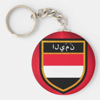 Yemen Flag Keychain