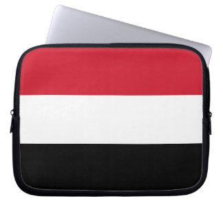 Yemen Flag Laptop Computer Sleeve