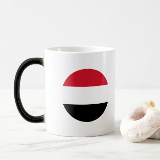 Yemen Flag Magic Mug