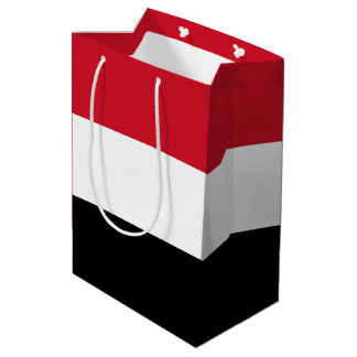 Yemen Flag Medium Gift Bag