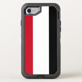 Yemen Flag OtterBox Defender iPhone 8/7 Case