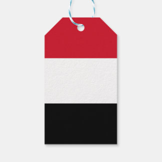 Yemen Flag Pack Of Gift Tags