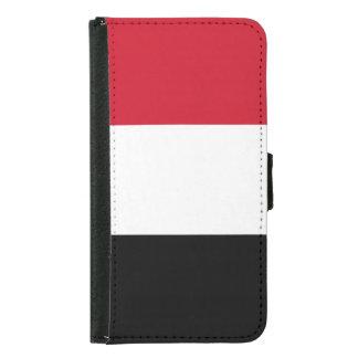 Yemen Flag Samsung Galaxy S5 Wallet Case
