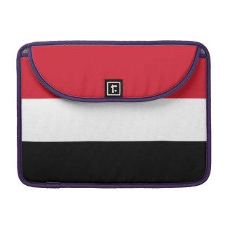 Yemen Flag Sleeves For MacBook Pro