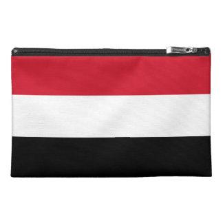 Yemen Flag Travel Accessory Bag