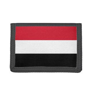 Yemen Flag Tri-fold Wallets
