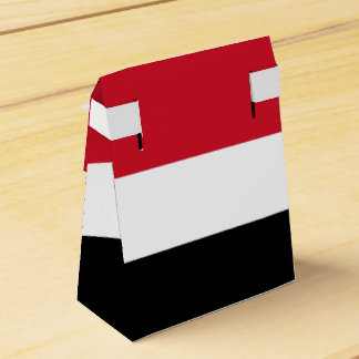 Yemen Flag Wedding Favor Boxes