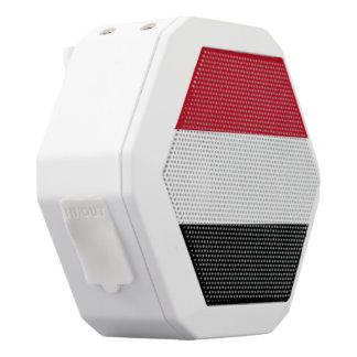 Yemen Flag White Bluetooth Speaker