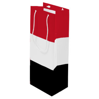 Yemen Flag Wine Gift Bag