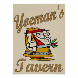 Yeoman's Tavern, Dart Player Poster