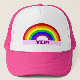 Yep Gay Pride Hat