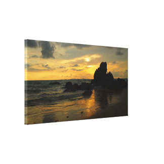 Yeppoon sunrise canvas print