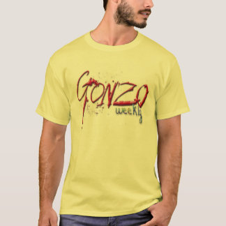 Yer original Gonzo Weekly shirt