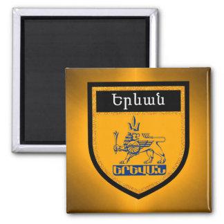 Yerevan Flag Magnet