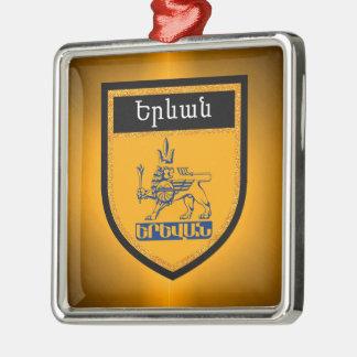 Yerevan Flag Metal Ornament