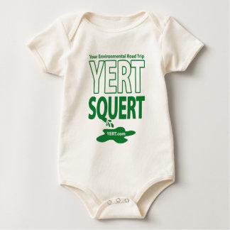 YERTSQUERT organic Baby Bodysuit