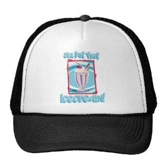 yes, but roofridge icecream trucker hat