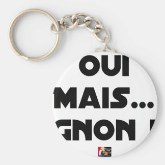 YES, BUT THUMP! - Word games - François City Keychain