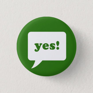 """yes!"" button"