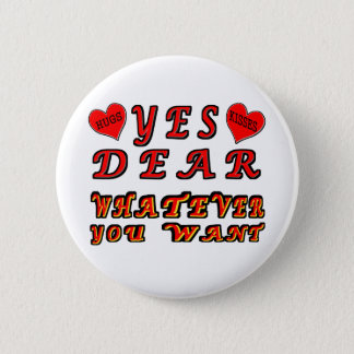 Yes Dear 2 Inch Round Button