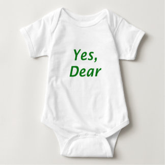 Yes Dear Baby Bodysuit