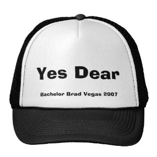 Yes Dear, Bachelor Brad Vegas 2007 Trucker Hat