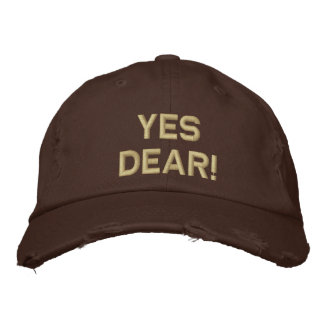Yes Dear! Baseball Hat Embroidered Hat