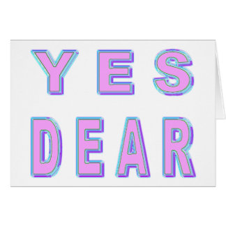 YES DEAR GREETING CARDS