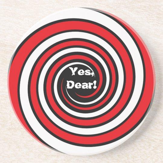 """Yes Dear"" Coaster"