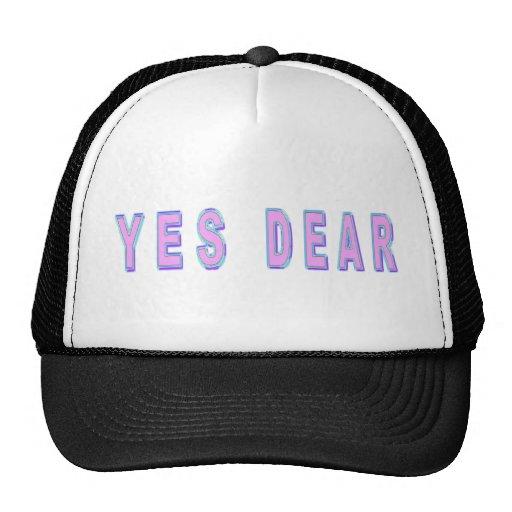YES DEAR TRUCKER HATS