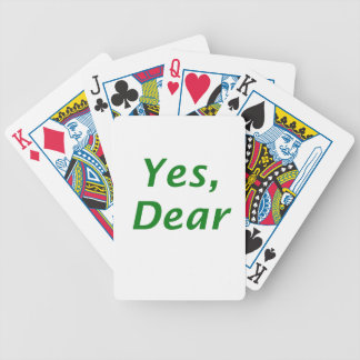 Yes Dear Poker Deck