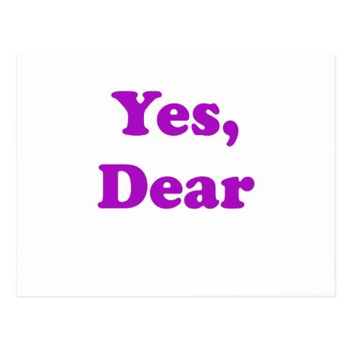 Yes Dear Postcards