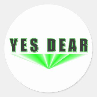 Yes Dear Stickers