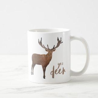 Yes Deer Mug