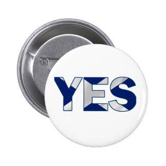 Yes Design 2 Inch Round Button
