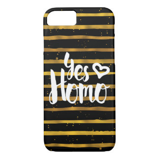 Yes Homo LGBT Pride iPhone 8/7 Case