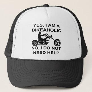Yes I Am A Bikeaholic No I Do Not Need Help Trucker Hat